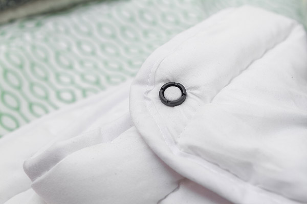 Nórdico con botón ClickClix L negro