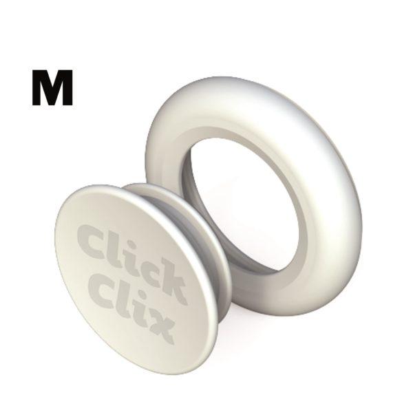 ClickClix M blanco
